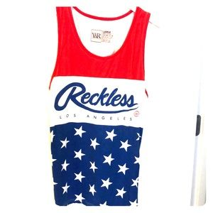 Men's young and reckless tank top